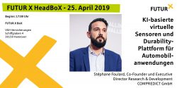 HeadBoX Stephane Foulard 25.04.2019