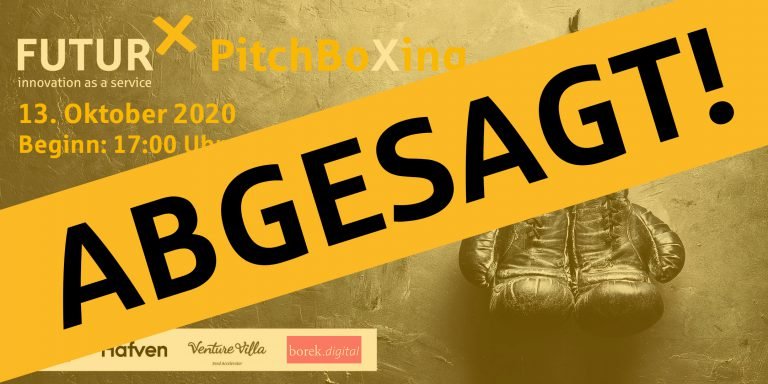 ABSAGE – PitchBoXing 2020.2
